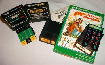 Original review materials for Intellivision vs. ColecoVision, Parts I and II: BurgerTime and Gambling 