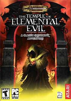 Box cover for Troika's 'The Temple of Elemental Evil'