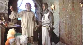 The rescue of Prince Herbert from 'Monty Python and the Holy Grail'