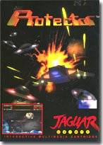 Box image for the original Protector on the Atari Jaguar