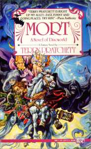 Cover of Terry Pratchett Novel Mort.