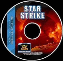 Scan of the CD label for Star Strike (Sega CD)