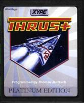 Thrust+ Platinum Edition cartridge scan.