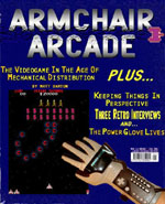 Cover of Armchair Arcade Issue #3!
