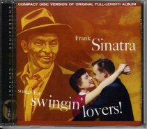 Scan of Frank Sinatra's Songs for Swingin' Lovers! (Capitol Records)