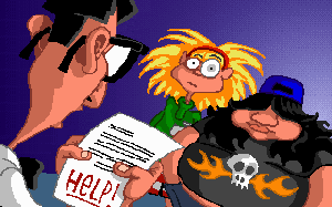 Screenshot of Day of the Tentacle