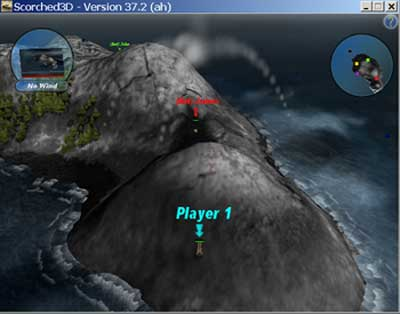 Screenshot of Scorch 3D for the PC