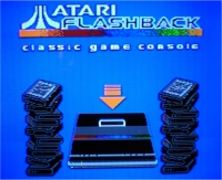 Atari Flashback screenshot of main menu from television