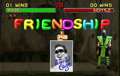 Mortal Kombat 2 - Friendship.