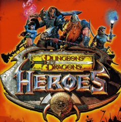 Box Cover for Dungeons & Dragons: Heroes