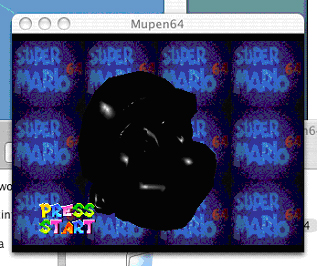Mupen64 screenshot