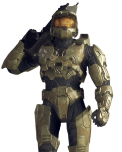 Master Chief: The armor and mask protect ego as well as body.