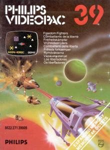 Philips 1982 Videopac 39 'Freedom fighters' box