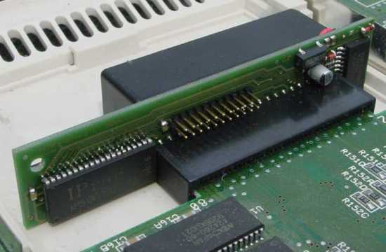 Memory Expansion for the Commodore Amiga 600