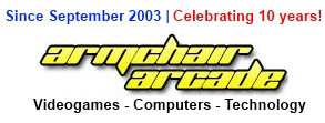 Armchair Arcade 10th Anniversary