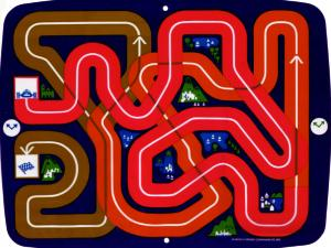 Wipeout (Magnavox Odyssey, 1972) Overlay