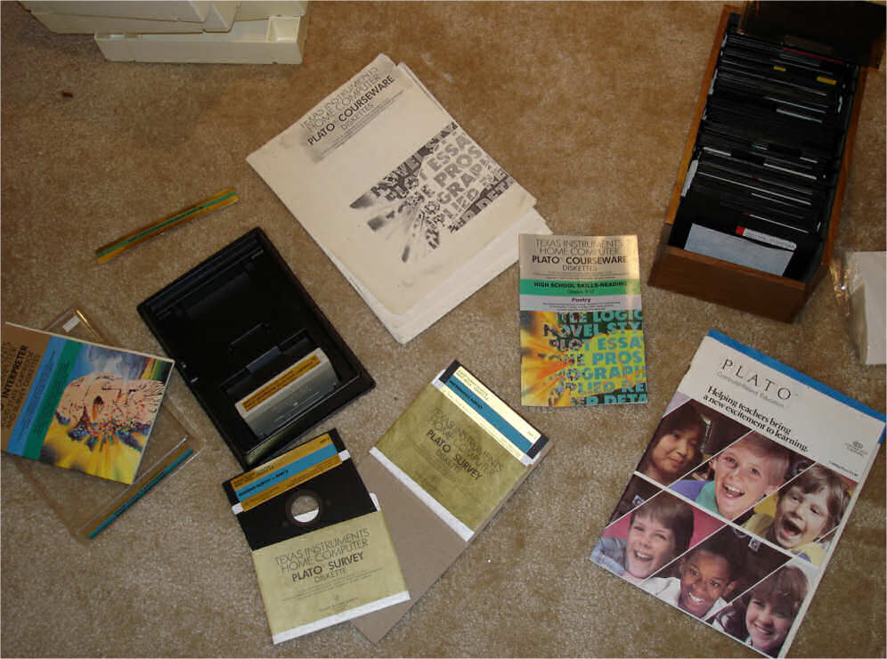A large PLATO collection for the TI-99/4a