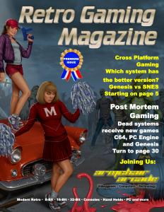 Retro Gaming Magazine, Issue 1
