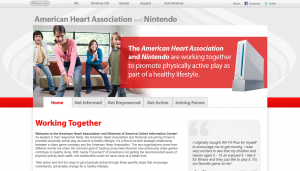 AHA Nintendo Website