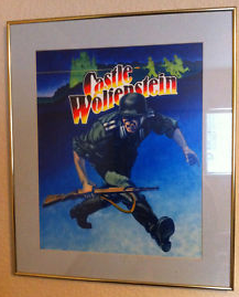 Castle Wolfenstein Original Cover Art Painting