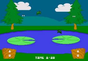 Frog Feast - Sega CD Version Screenshot