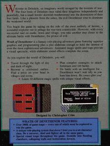 Wrath of Denethenor : Rear of Box