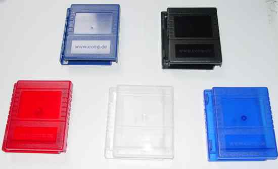 New cartridge cases for the Commodore 64/128