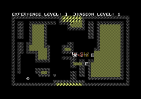 Sword of Fargoal, C-64: Looks like I'm in trouble.