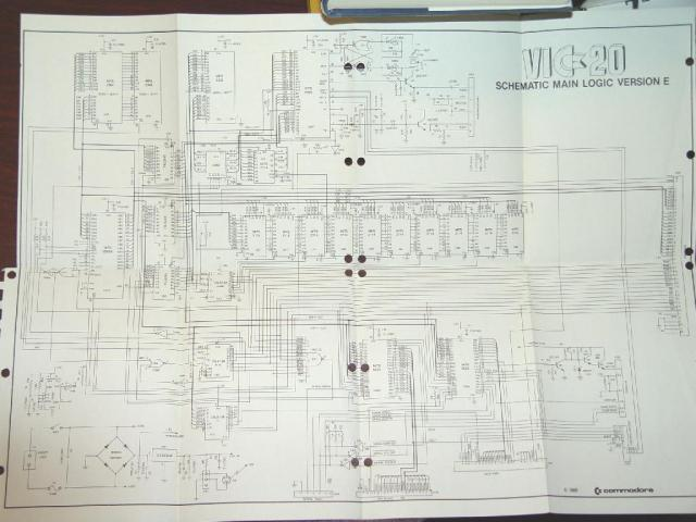 Full VIC-20 Schematics
