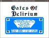 Gates of Delirium Title Screen