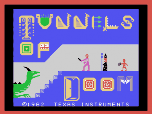 Tunnels of Doom Intro Screen