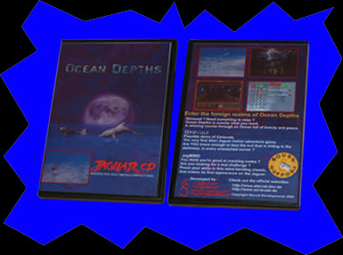 Ocean Depths game packaging