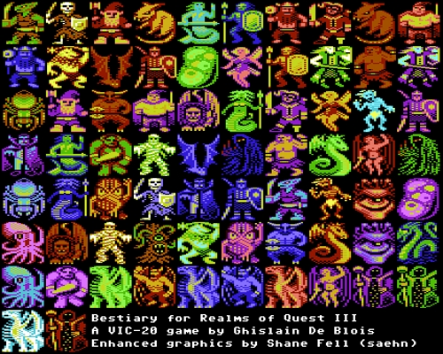 Realms of Quest III Beastiary