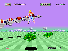 Space Harrier 1982 Sega