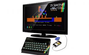 Mock-up of ZX Spectrum Re-release