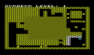 Fargoal on the VIC-20: While not as sharp as the C-64's version, in some ways the VIC version is a greater technical achievement.