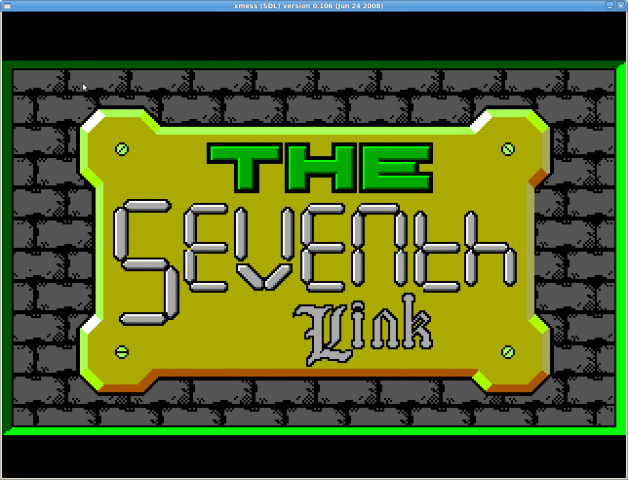 7L : Title Screen