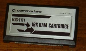 Commodore 16-K Expansion Cartridge