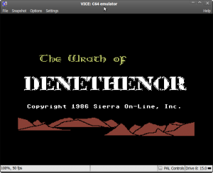 Wrath of Denethenor : Title